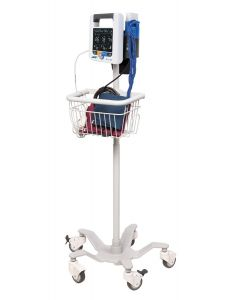 Mobile Stand With Basket For ADC Adview 2
