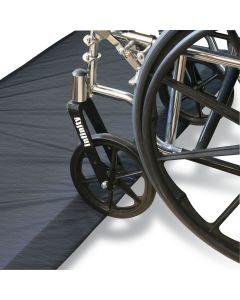 Bi-Fold Beveled Bedside Safety Mat