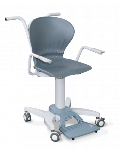 Deluxe Digital Chair Scale with Flip-up Arms and Footrest