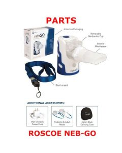 nebGO Portable Handheld Nebulizer