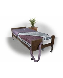"""DRIVE MED-AIRE 8"""" ALTERNATING PRESSURE AND LOW AIR LOSS MATTRESS SYSTEM"""