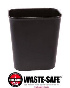 Fire-Resistant Wastebasket