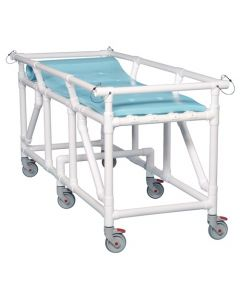 PVC Patient Transport or Shower Gurney,​ 500 lb.​ Capacity