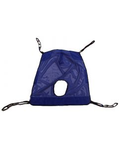 Invacare Full Body, Mesh Sling with Commode Opening XXL