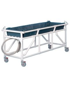 PVC Deluxe Transport or Shower Gurney